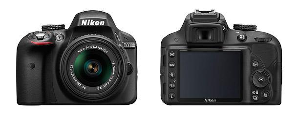 Nikon D3300 - Front & Back