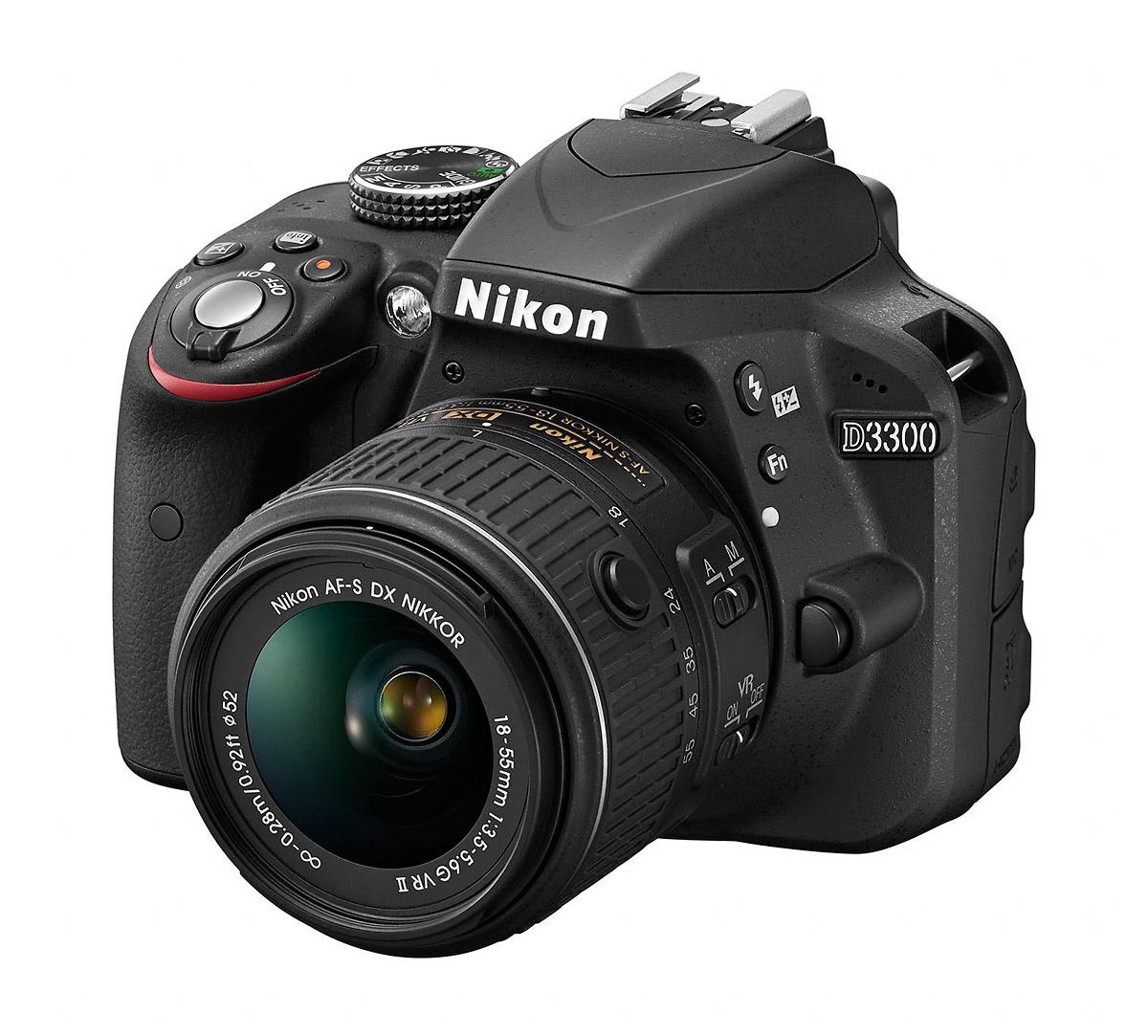 Nikon's 24-MP AA-Free D3300 Digital SLR