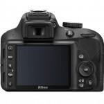 Nikon D3300 - Rear View