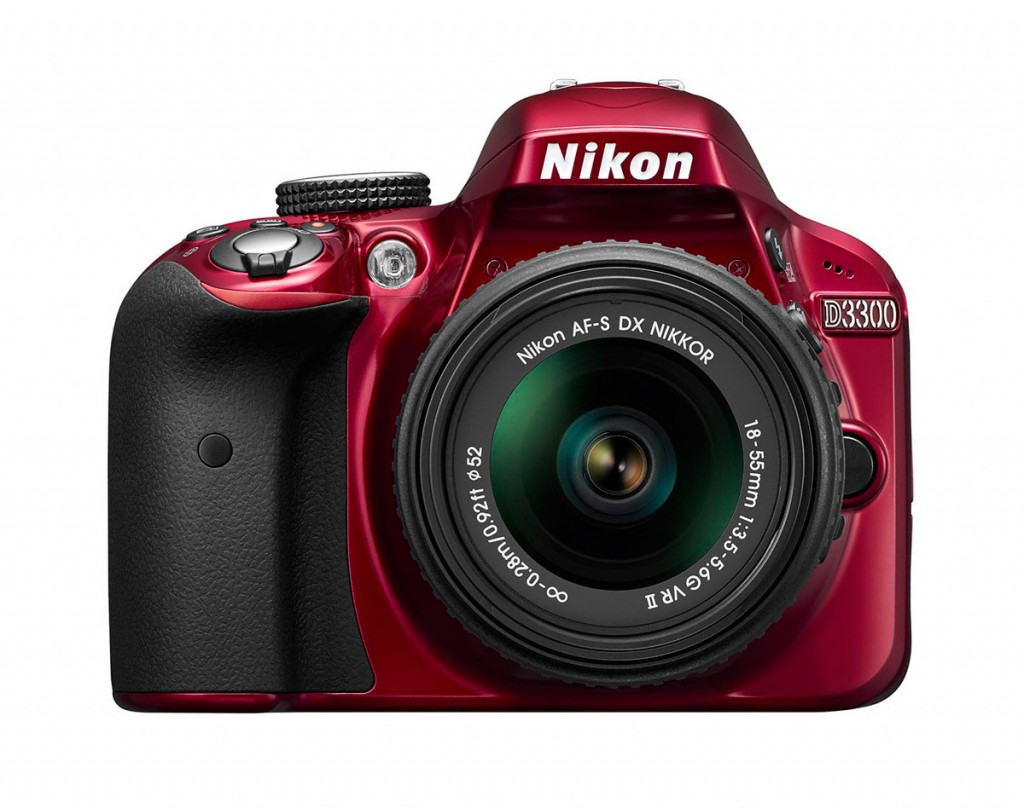 Nikon D3300 - Red