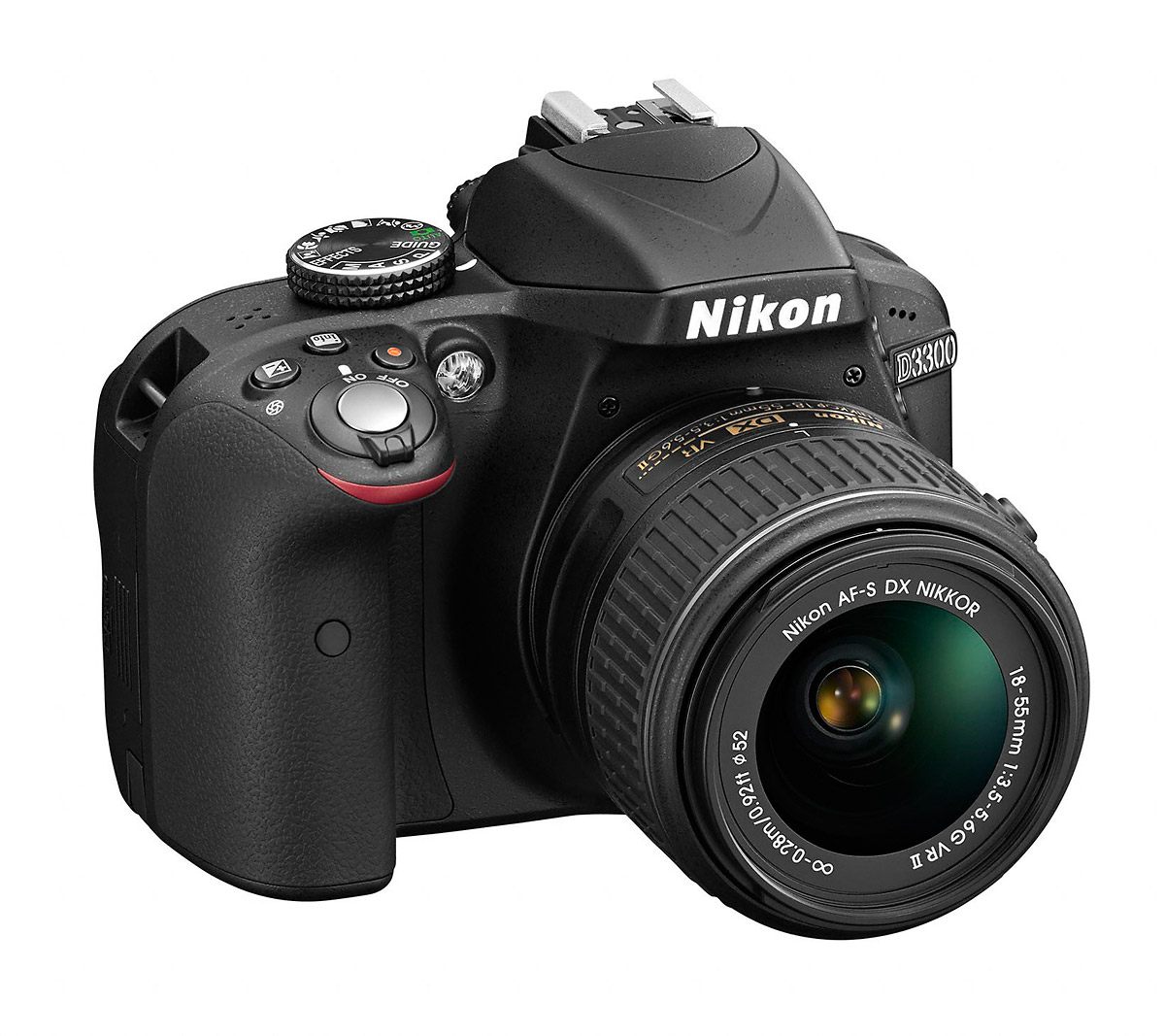 Nikon D3300 - Front Right