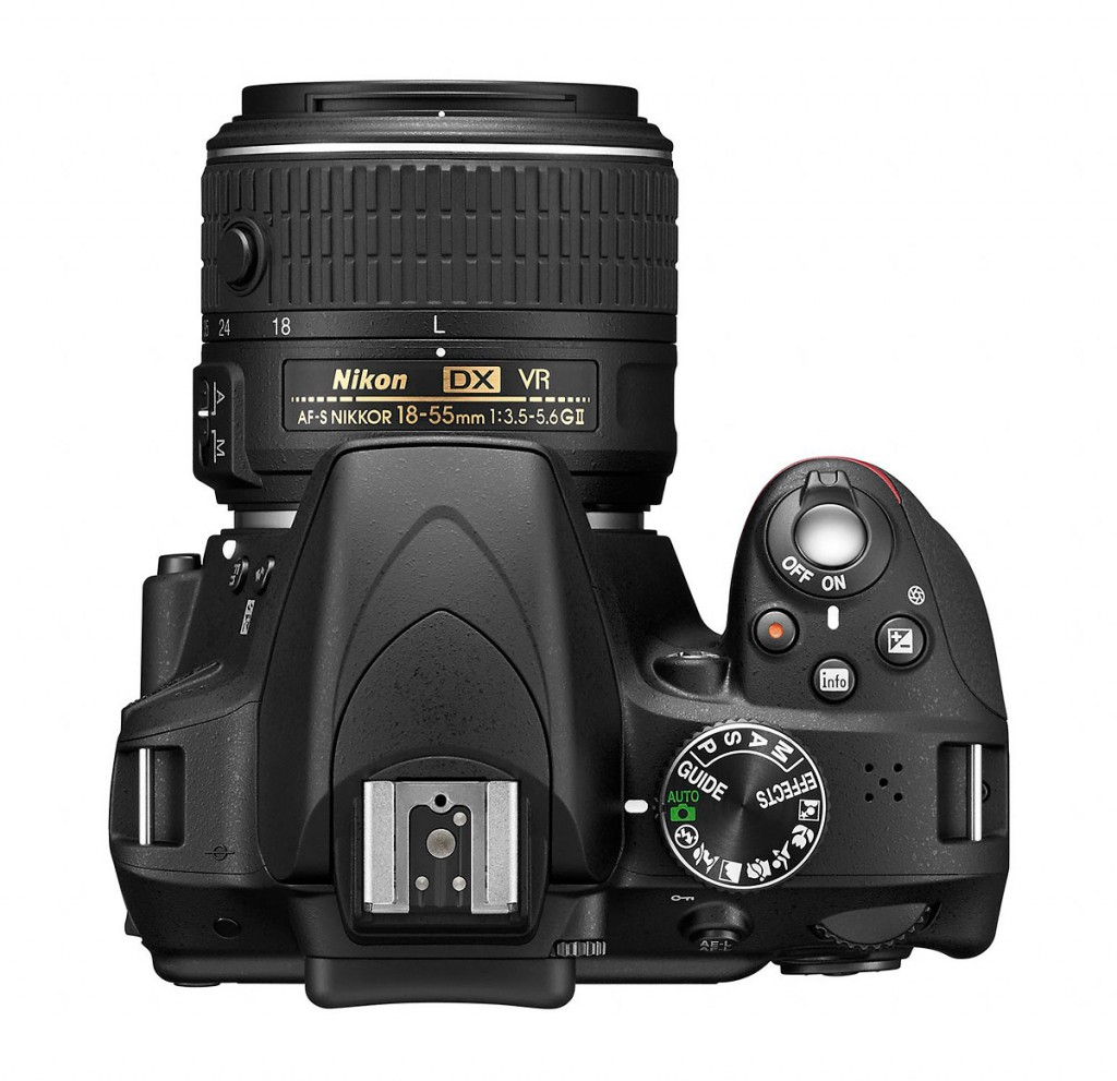 Nikon D3300 Digital SLR - Top View