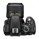 Nikon D3300 Digital SLR - Top View