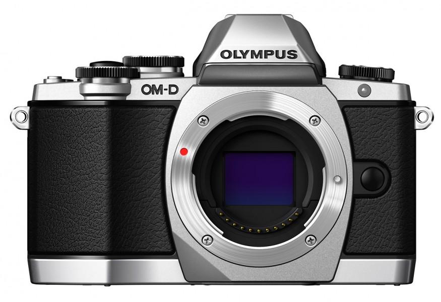 Olympus OM-D E-M10 Camera Body - Silver
