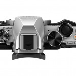 Olympus OM-D E-M10 - Top View - Silver