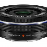 M.Zuiko Digital 14-42mm f3.5-5.6 EZ Pancake Zoom Lens - Black