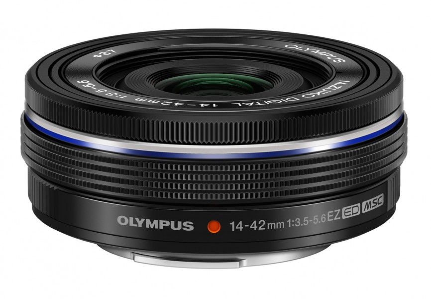 M.Zuiko Digital 14-42mm f3.5-5.6 EZ Pancake Zoom Lens - Black
