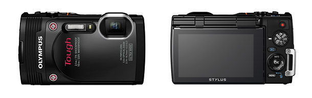 Olympus Stylus Tough TG-850 Waterproof Camera - Front & Back