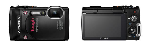 Olympus Stylus Tough TG-850 Waterproof Camera - Front & Back