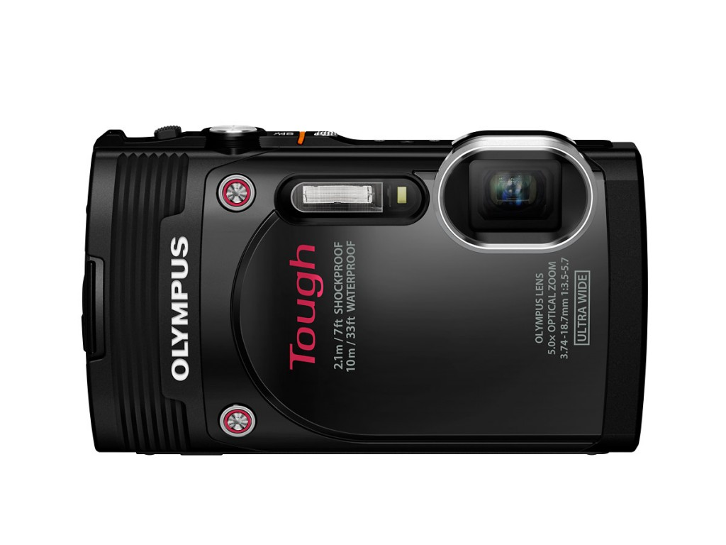 Olympus Stylus Tough TG-850 - Front - Black