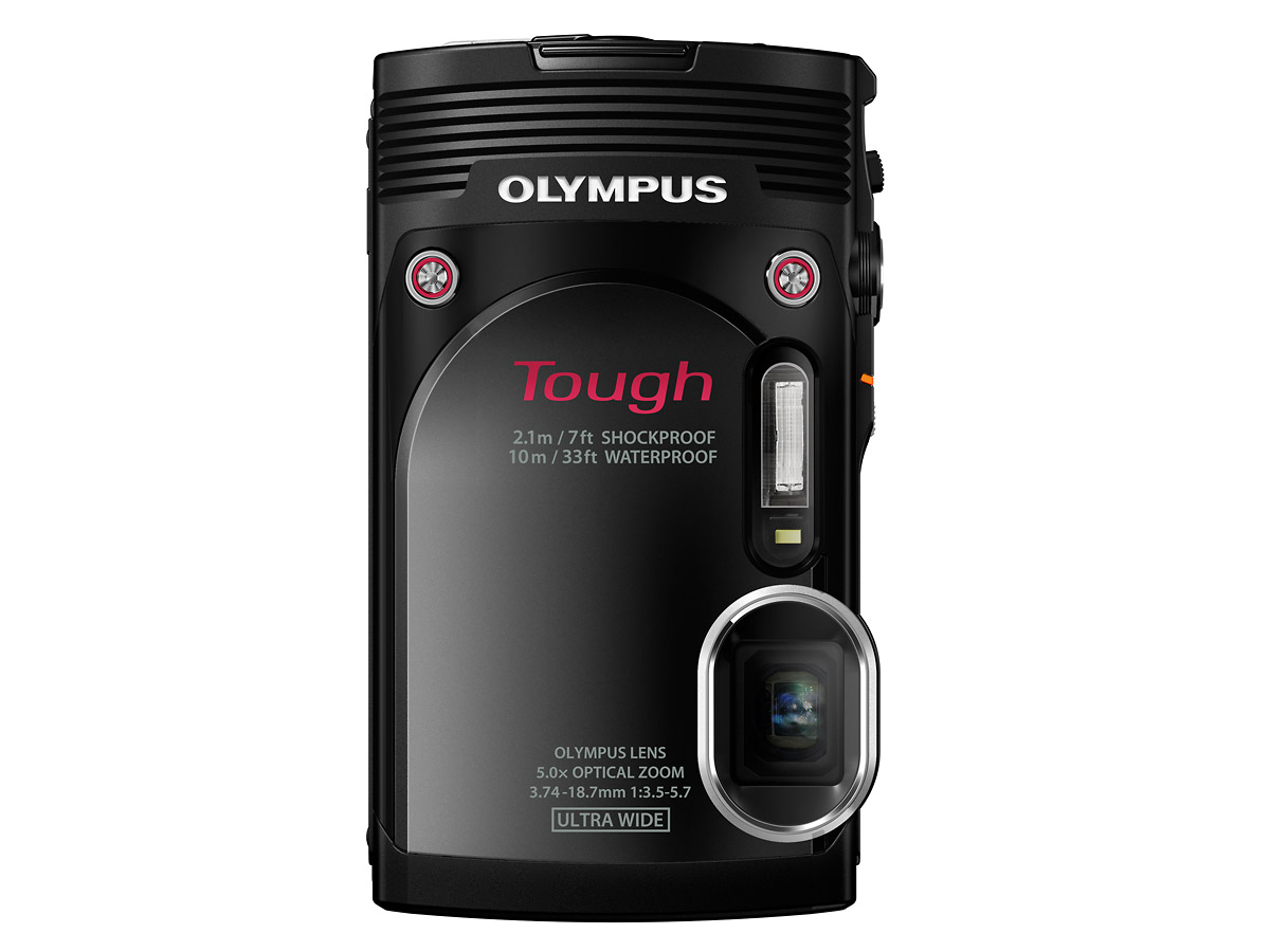 Olympus Stylus Tough TG-850 - Silver - Black