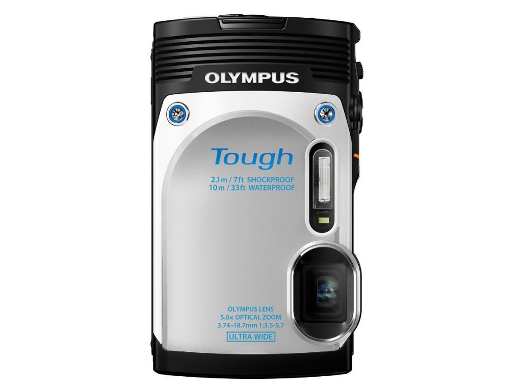 Olympus Stylus Tough TG-850 - Silver - White