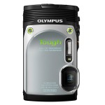 Olympus Stylus Tough TG-850 - Silver - Vertical