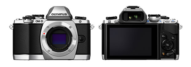 Olympus OM-D E-M10 - Front & Back