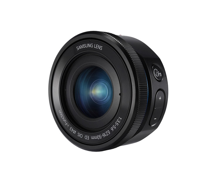 Samsung 16-50mm F3.5-5.6 Power Zoom ED OIS Zoom Lens - Front