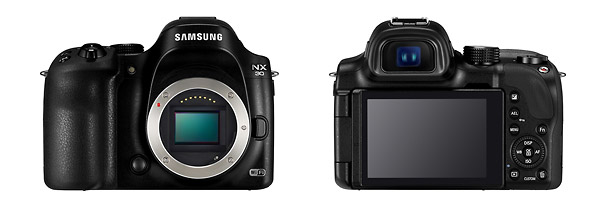 Samsung NX30 - Front & Back