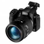 Samsung NX30 - Angle View With Tilting Electronic Viewfinder
