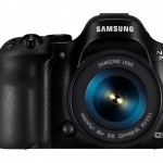 Samsung NX30 - Front View With 18-55mm Kit Lens