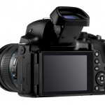 Samsung NX30 - Rear View With Tilting EVF