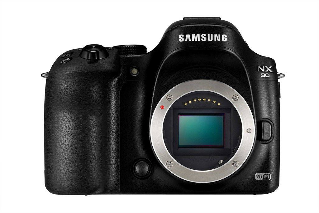 Samsung NX30 With Expanded Wi-Fi Features & Tilting EVF ...
