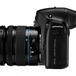 Samsung NX30 - Side View With Tilting EVF