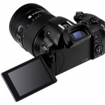 Samsung NX30 - Rear View With Articulated LCD & Tilting EVF