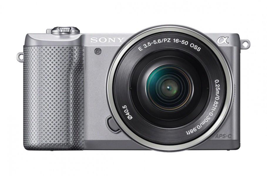 Sony Alpha A5000 Mirrorless Camera - Silver