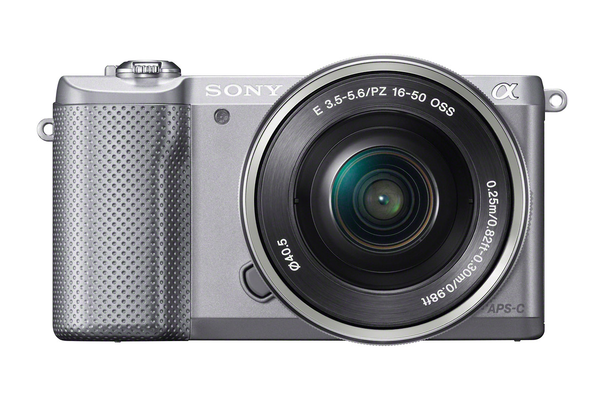 Sony Alpha A5000 Mirrorless Camera - Silver