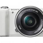 Sony Alpha A5000 Mirrorless Camera - White