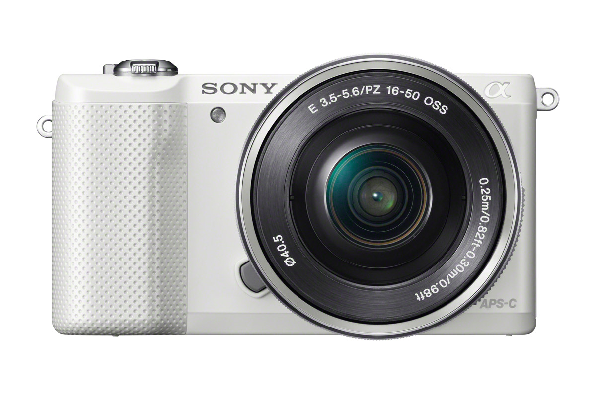 Sony Alpha A5000 Mirrorless Camera - White