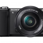 Sony Alpha A5000 Mirrorless Camera - Black
