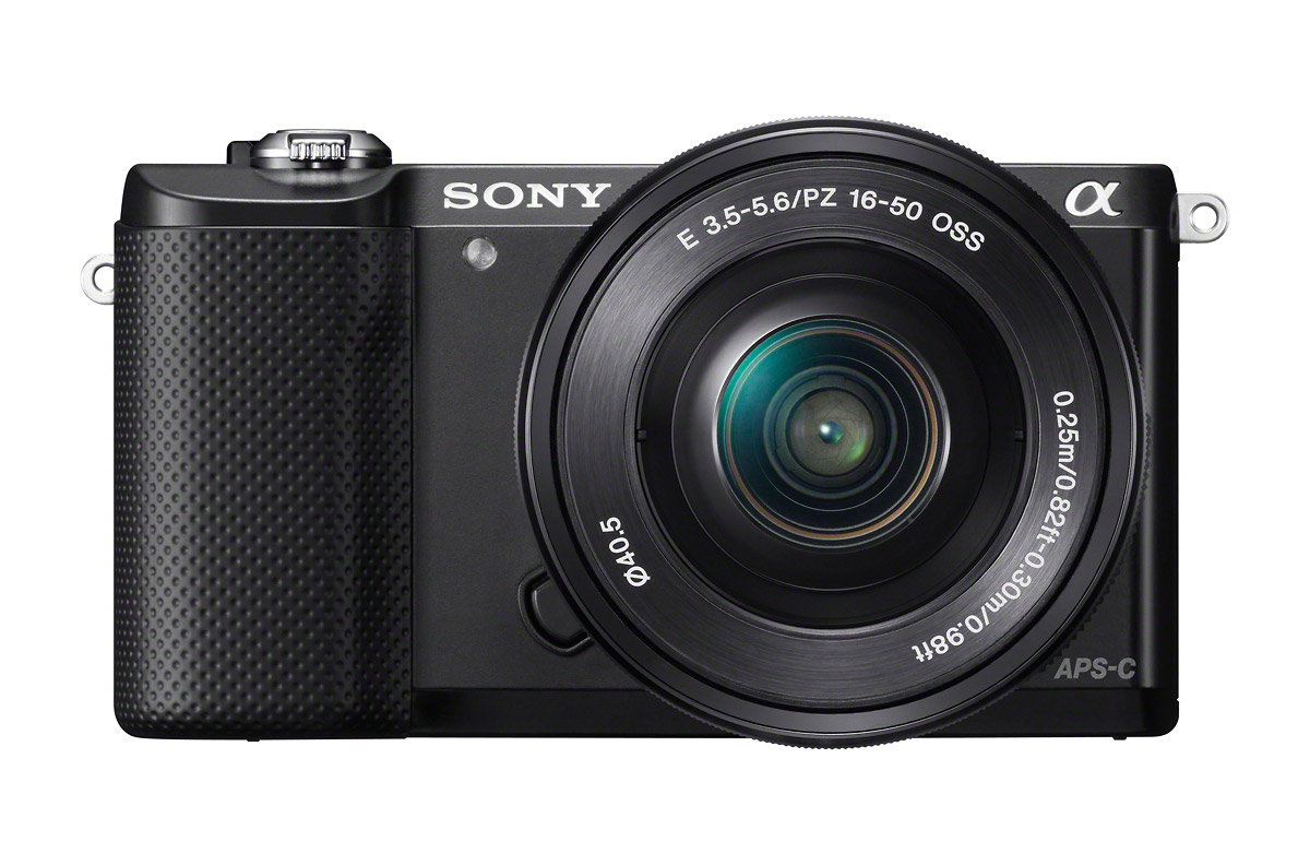 Sony Alpha A5000 Mirrorless Camera - Black