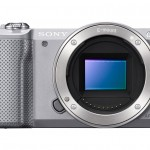 Sony Alpha A5000 - Silver - With 20.1-Megapixel APS-C CMOS Sensor