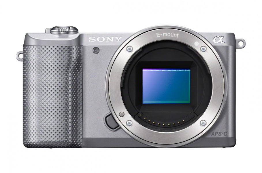 Sony Alpha A5000 - Silver - With 20.1-Megapixel APS-C CMOS Sensor