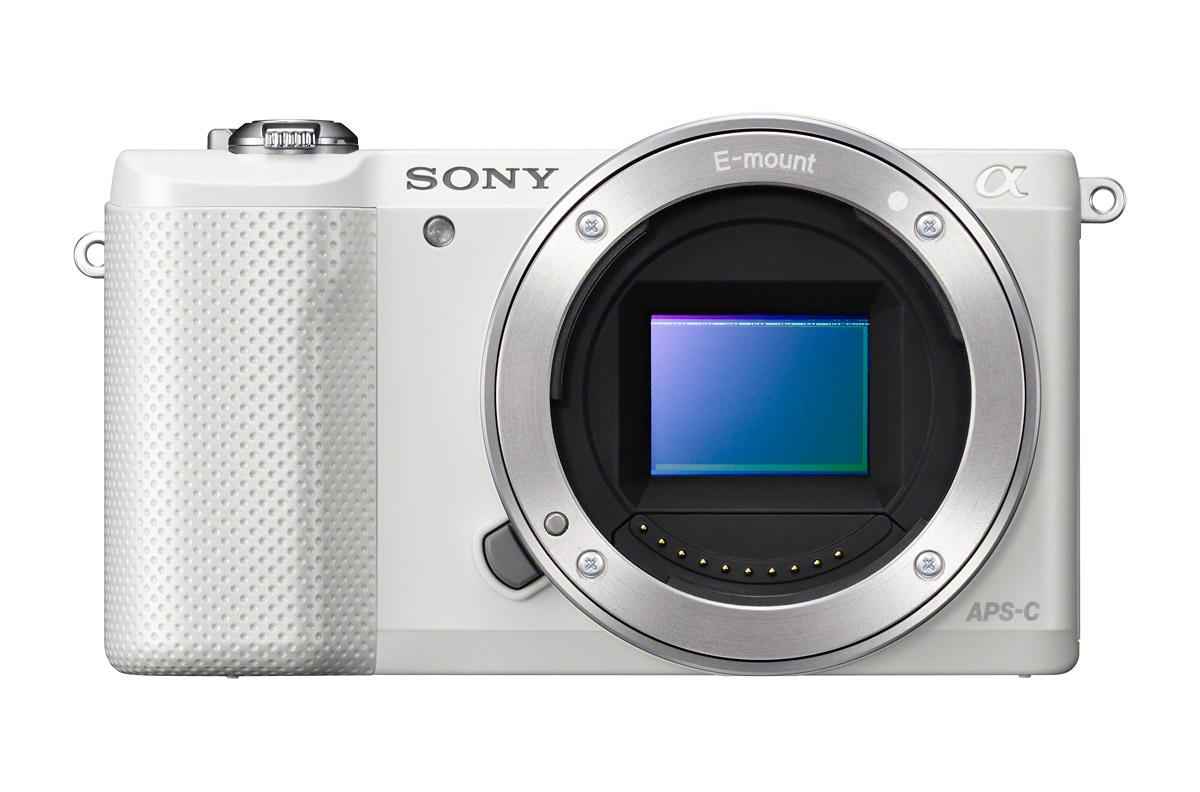 Sony Alpha A5000 with 20.1-Megapixel APS-C CMOS Sensor