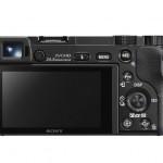 Sony Alpha A6000 Mirrorless Camera - Rear View