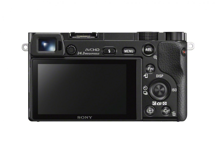 Sony Alpha A6000 Mirrorless Camera - Rear View