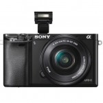 Sony Alpha A6000 Mirrorless Camera - Pop-Up Flash