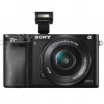 Sony Alpha A6000 Mirrorless Camera - Pop-Up Flash