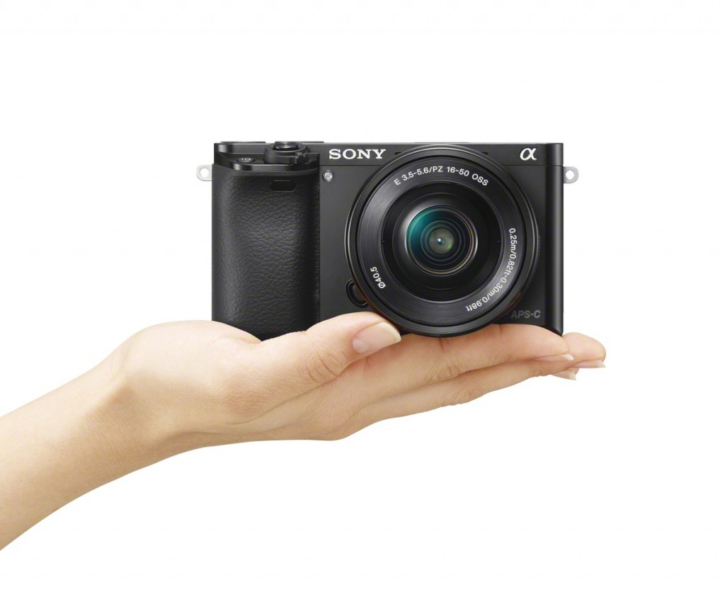 Sony Alpha A6000 Mirrorless Camera - In Hand