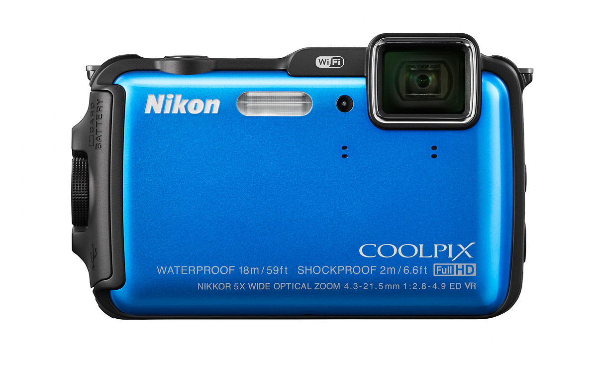 Nikon Coolpix AW120 Rugged Waterproof Camera