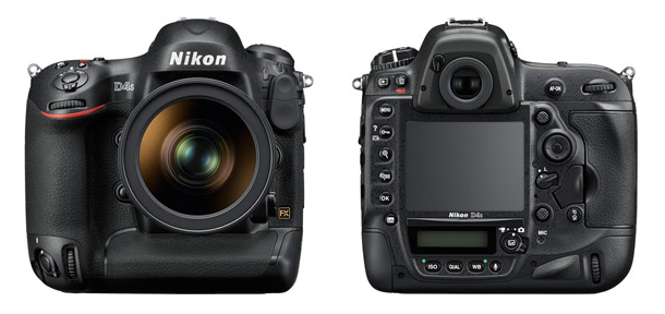 New Nikon D4S Flagship Digital SLR