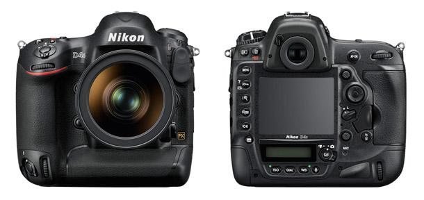 New Nikon D4S Flagship Digital SLR