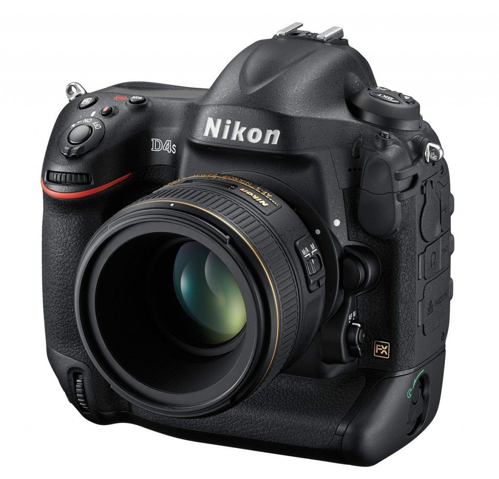 Nikon D4S Professional Digital SLR - Front Left