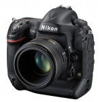 Nikon D4S Professional Digital SLR - Front Left