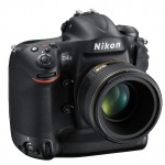 Nikon D4S Professional Digital SLR - Front Right