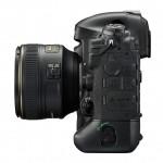 Nikon D4S - Side View