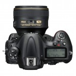 Nikon D4S Flagship DSLR - Top View
