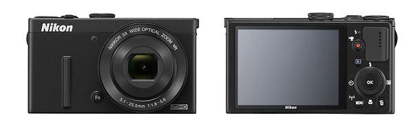Nikon Coolpix P340 - Front & Back