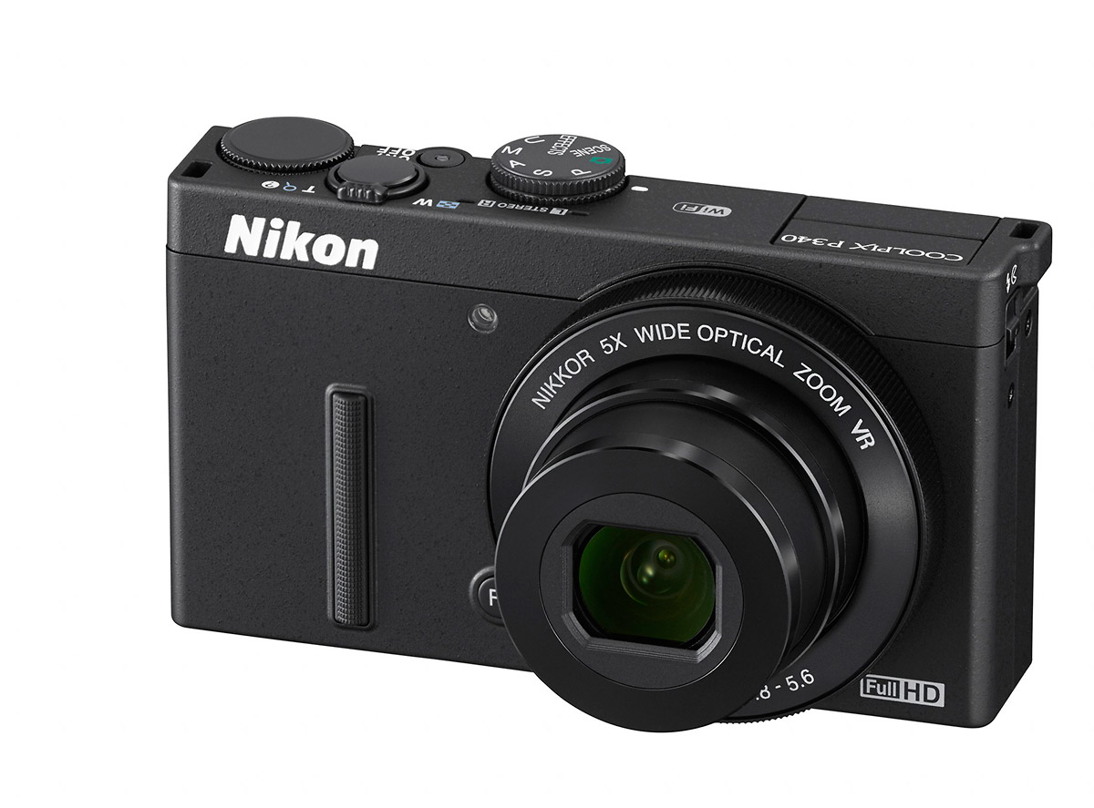 Nikon Coolpix P340 - Front Left